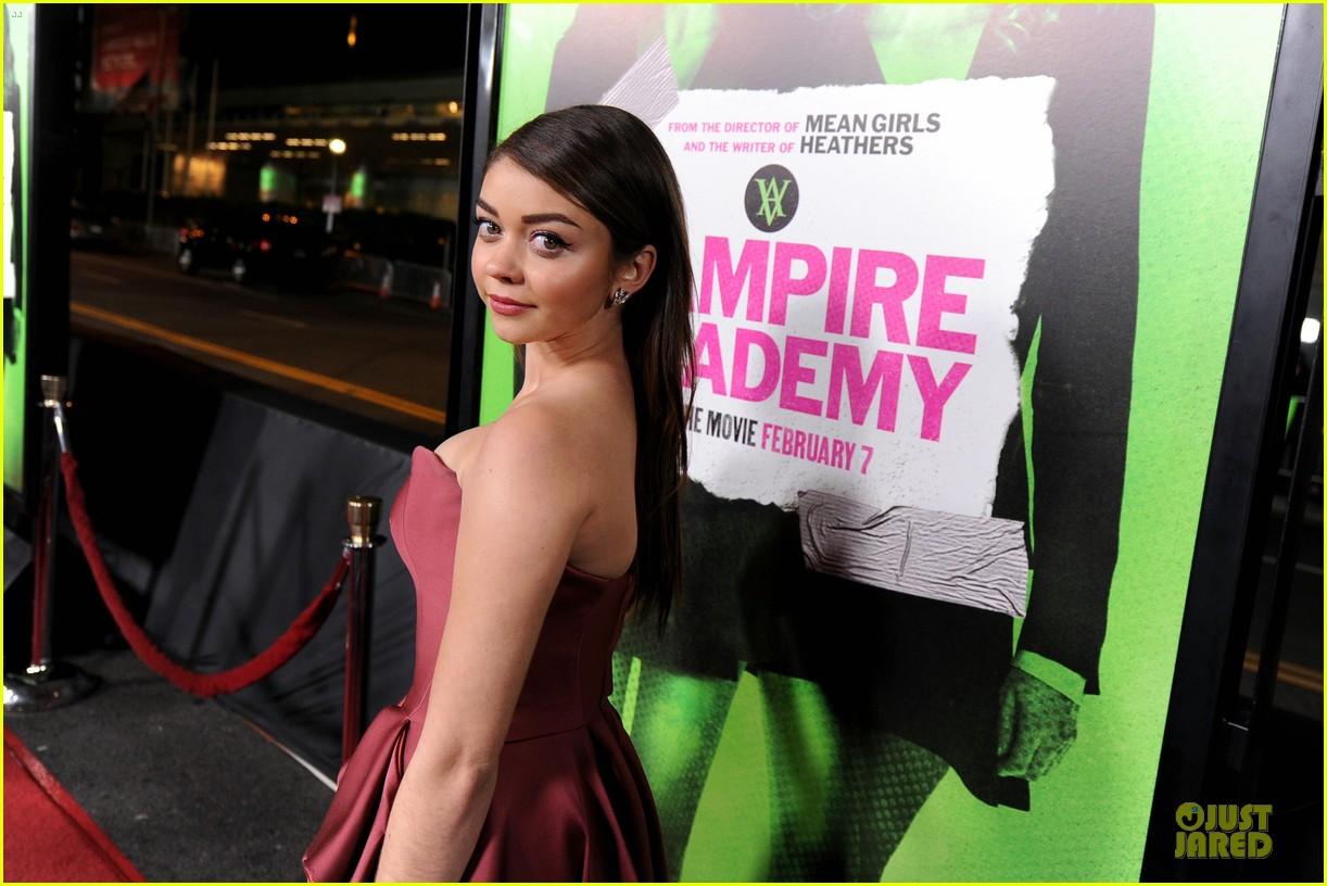 sarah hyland olga kurylenko vampire academy premiere 313047783