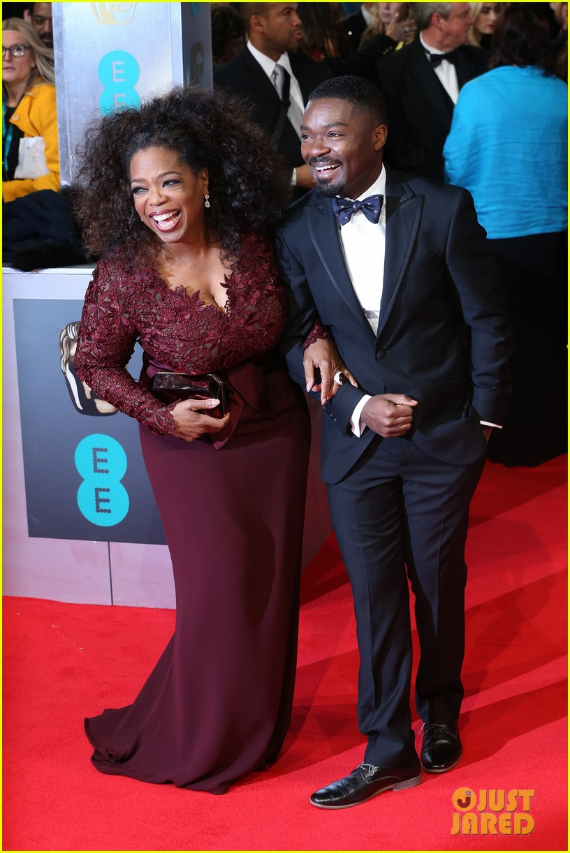 oprah winfrey baftas 2014 red carpet 03