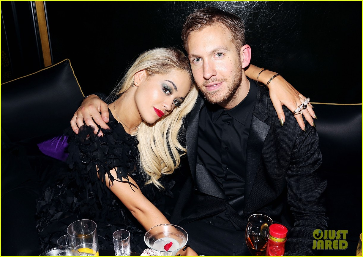 rita ora brit awards after party with boyfriend calvin harris 023056671