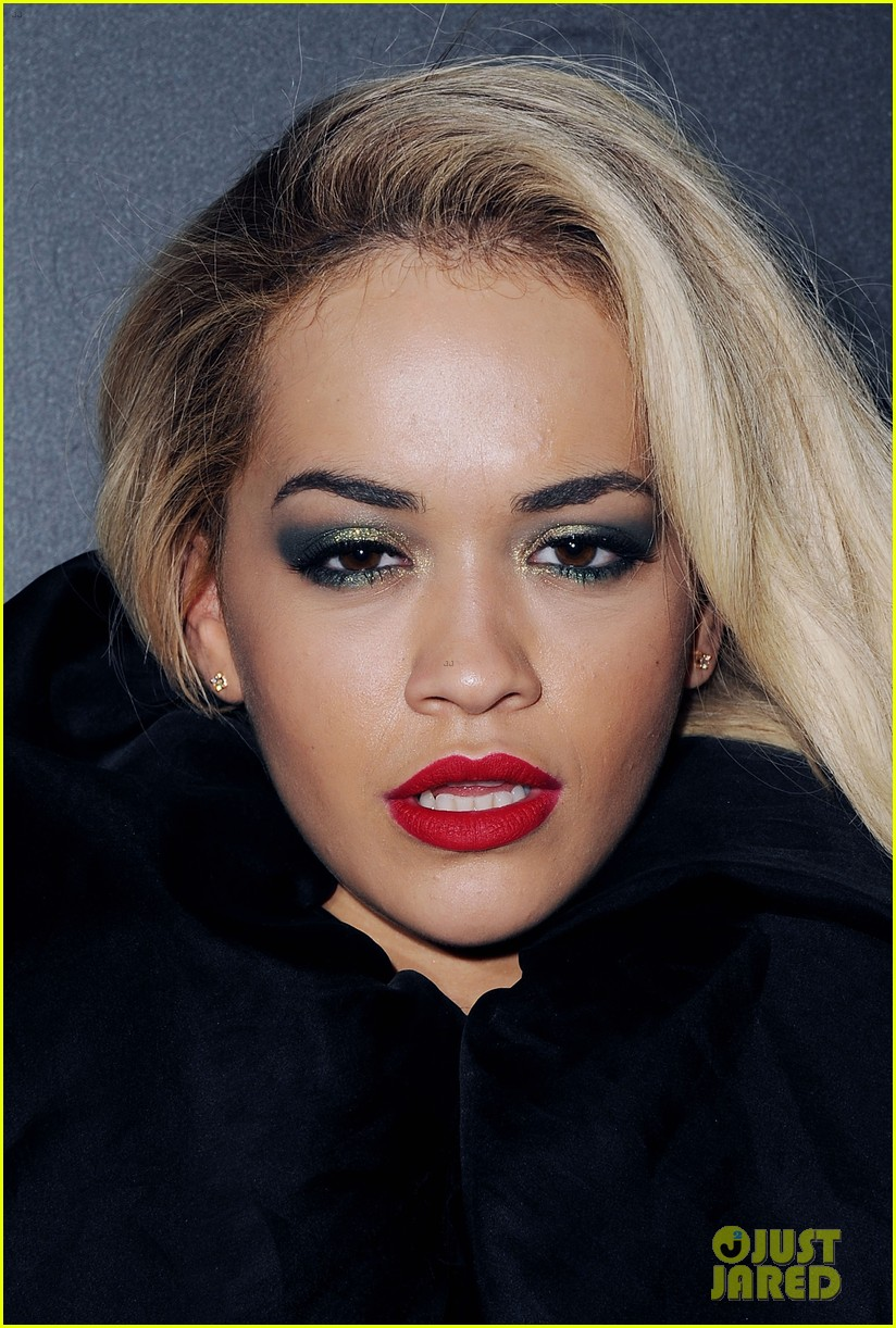 rita ora brit awards after party with boyfriend calvin harris 043056673