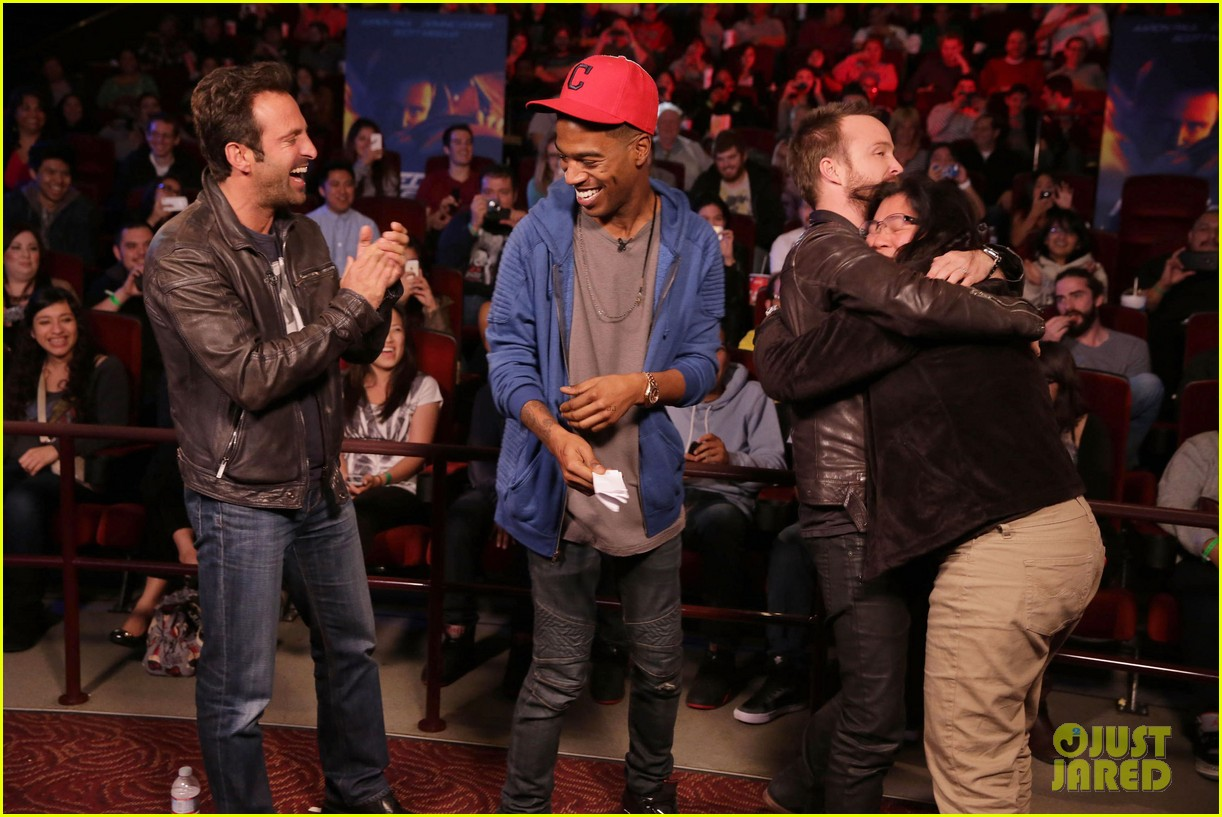 aaron paul kid cudi need for speed advance screening 093057093