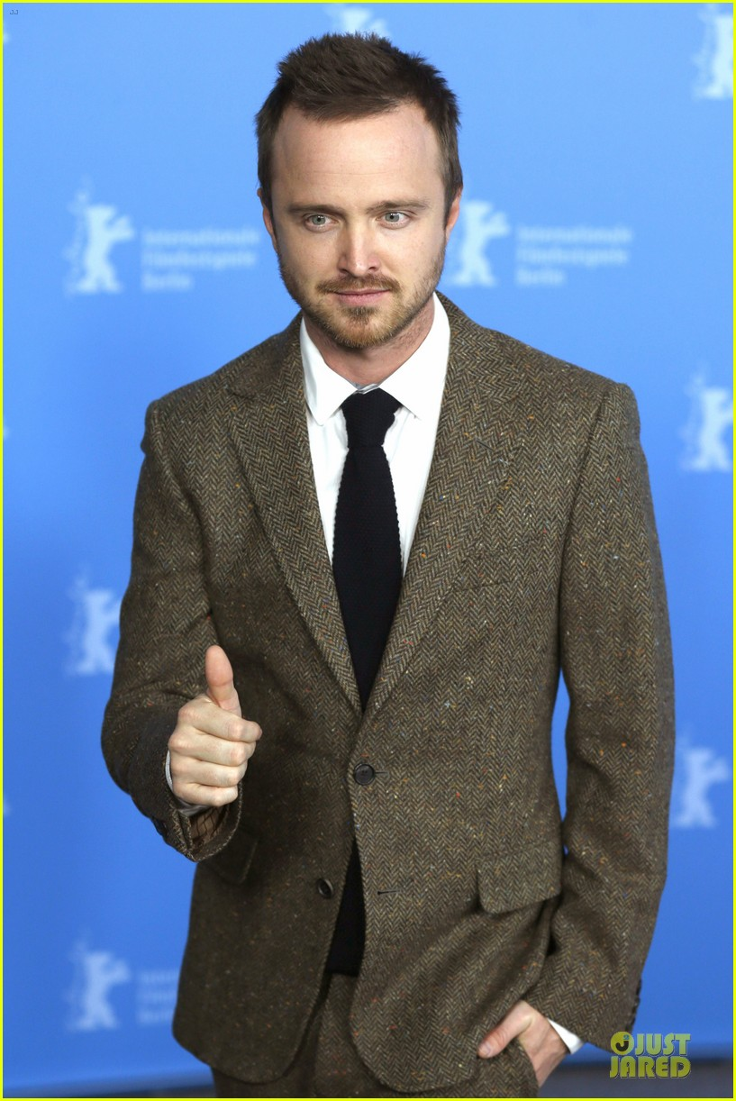 aaron paul imogen poots long way down berlin premiere 043050948
