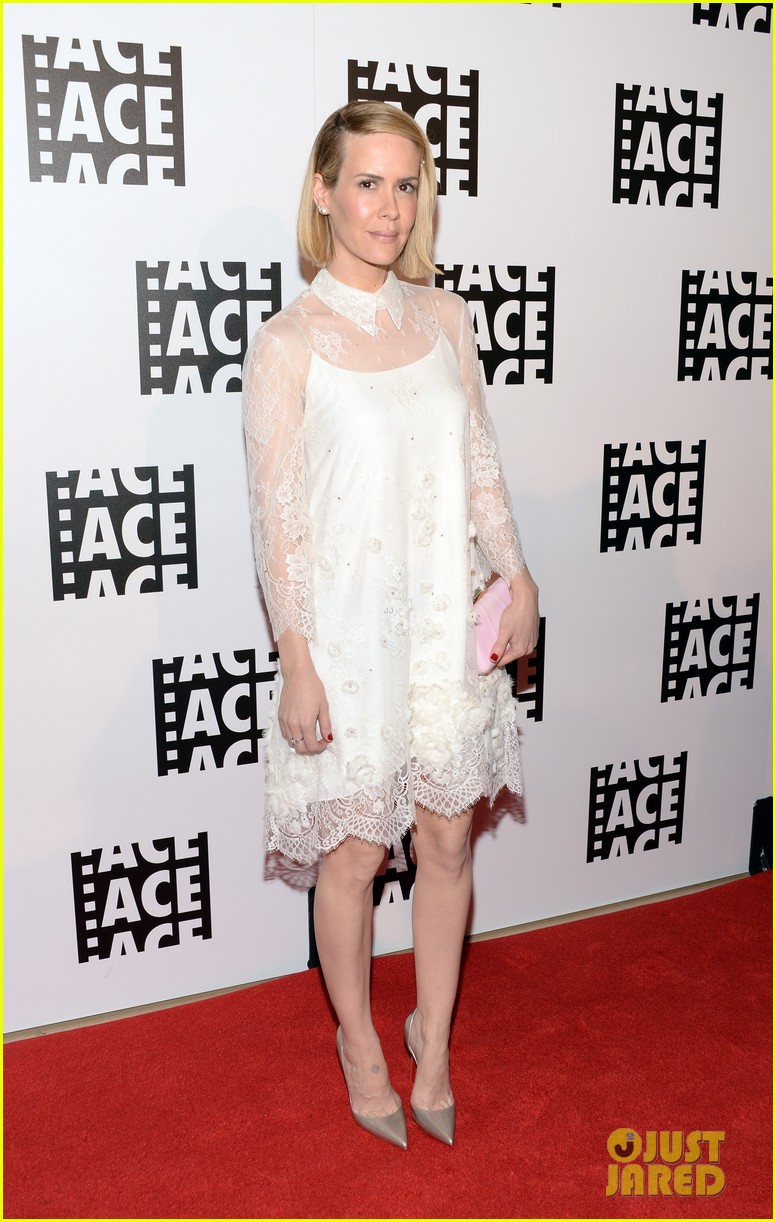 sarah paulson will forte ace eddie awards 2014 013049623