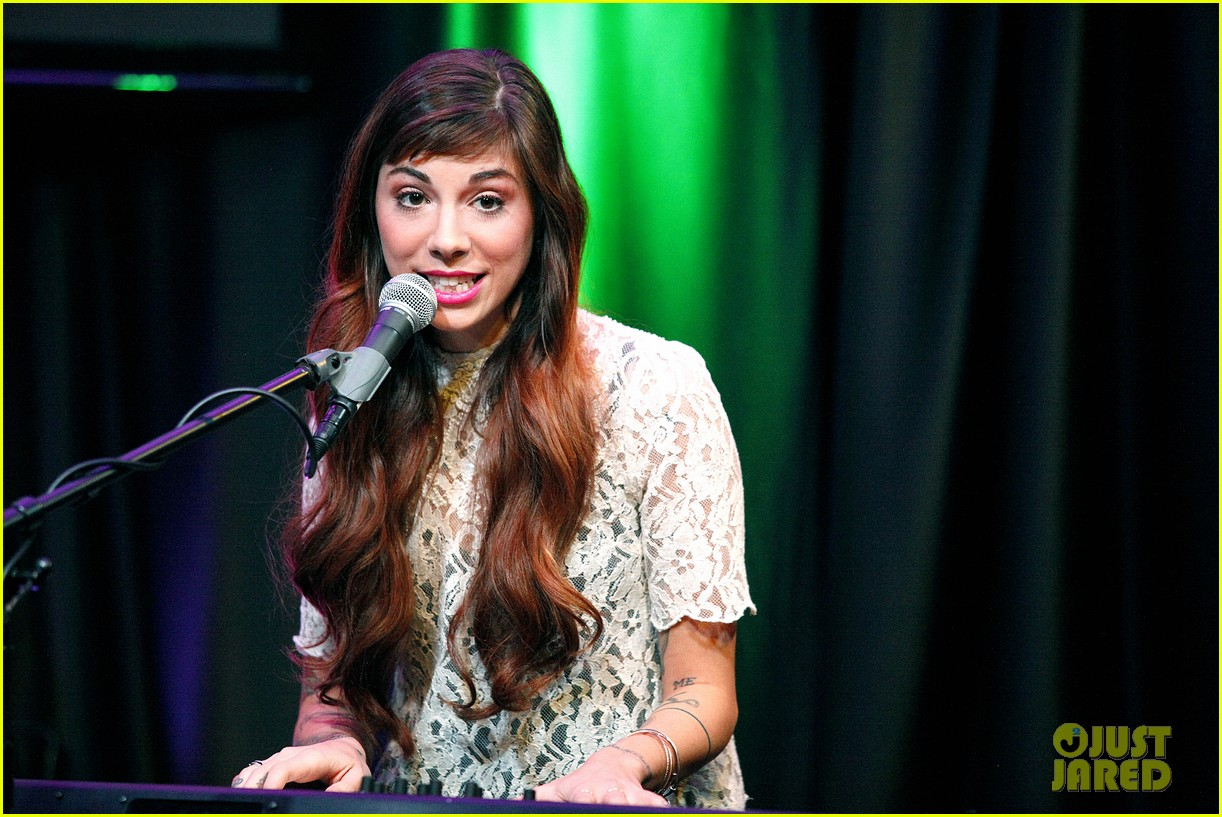 christina perri previews new album at nyc listening party 11
