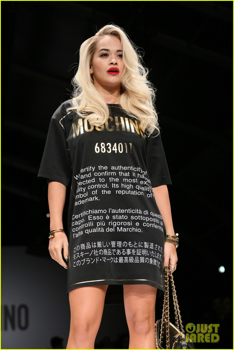 katy perry rita ora walk runway in moschino fashion show 043057385