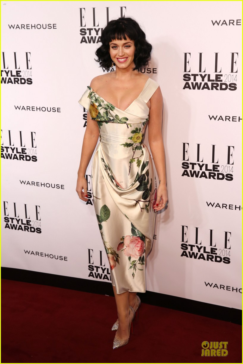 katy perry woman of the year honoree at elle style awards 2014 083055792