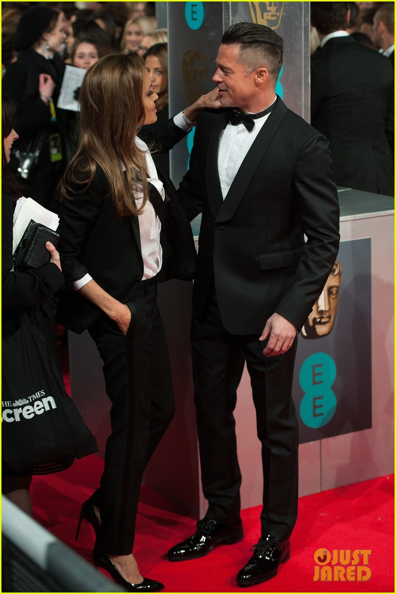 brad pitt wins best film at baftas 2014 watch video here 173054711