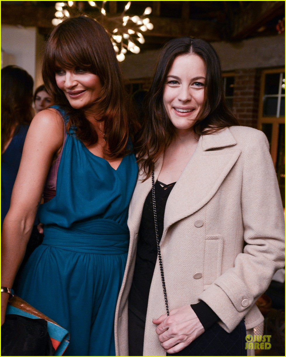 norman reedus liv tyler helena christensen photo exhibition 033045142