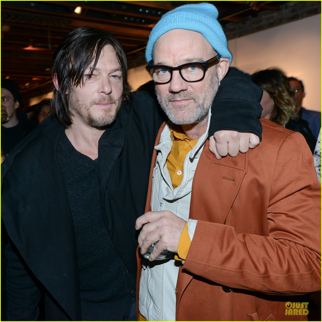 norman reedus liv tyler helena christensen photo exhibition 053045144