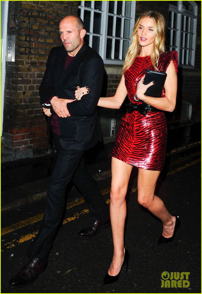 jason statham joins rosie huntington whiteley at brits party 113056859