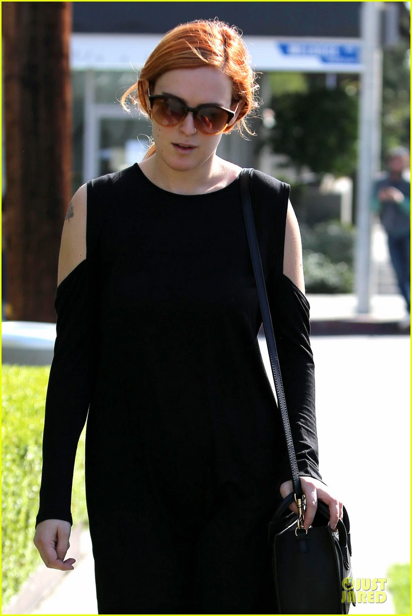 rumer willis rocks lighter hair at andy lecompte salon 223053533