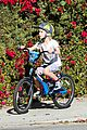 liev schreiber bares hot shirtless bod for family bike ride 21
