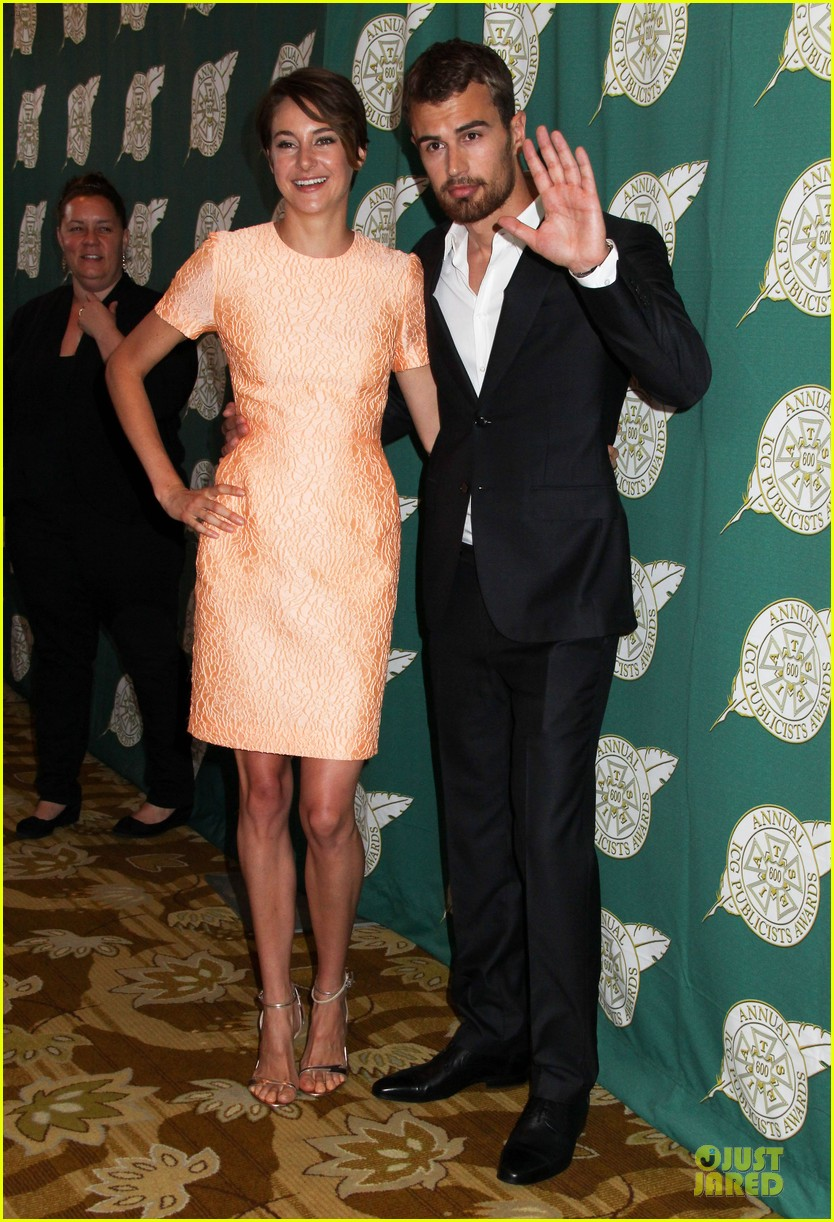 shailene woodley hot divergent pair at icg publicists awards 083062569