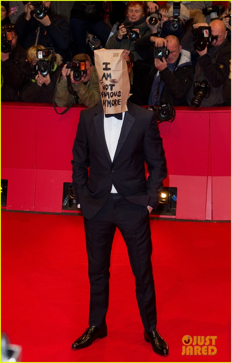 shia labeouf wears paper bag over his head for nymphomaniac berlin premiere 073050235