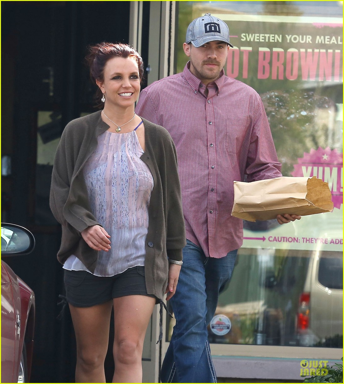 britney spears david lucado freebirds lunch before vegas show 02
