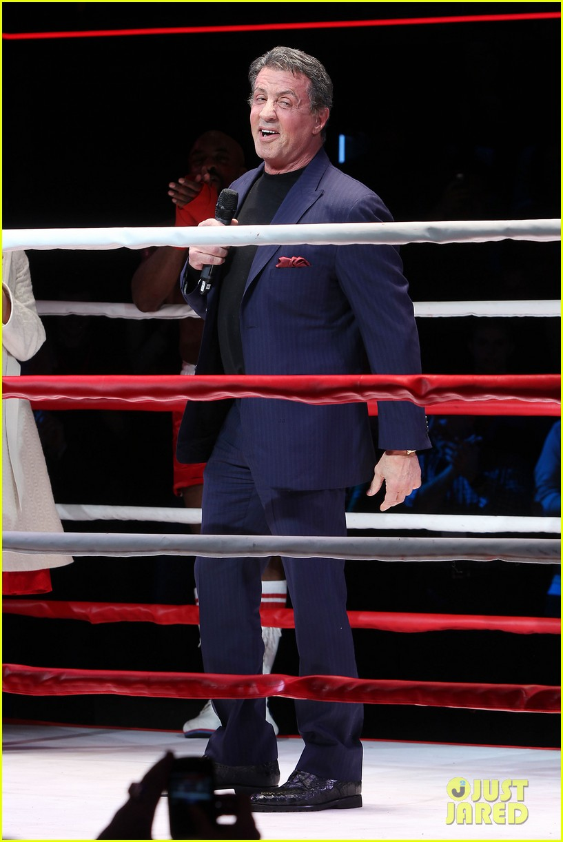 sylvester stallone helps launch rocky on broadway 013053178