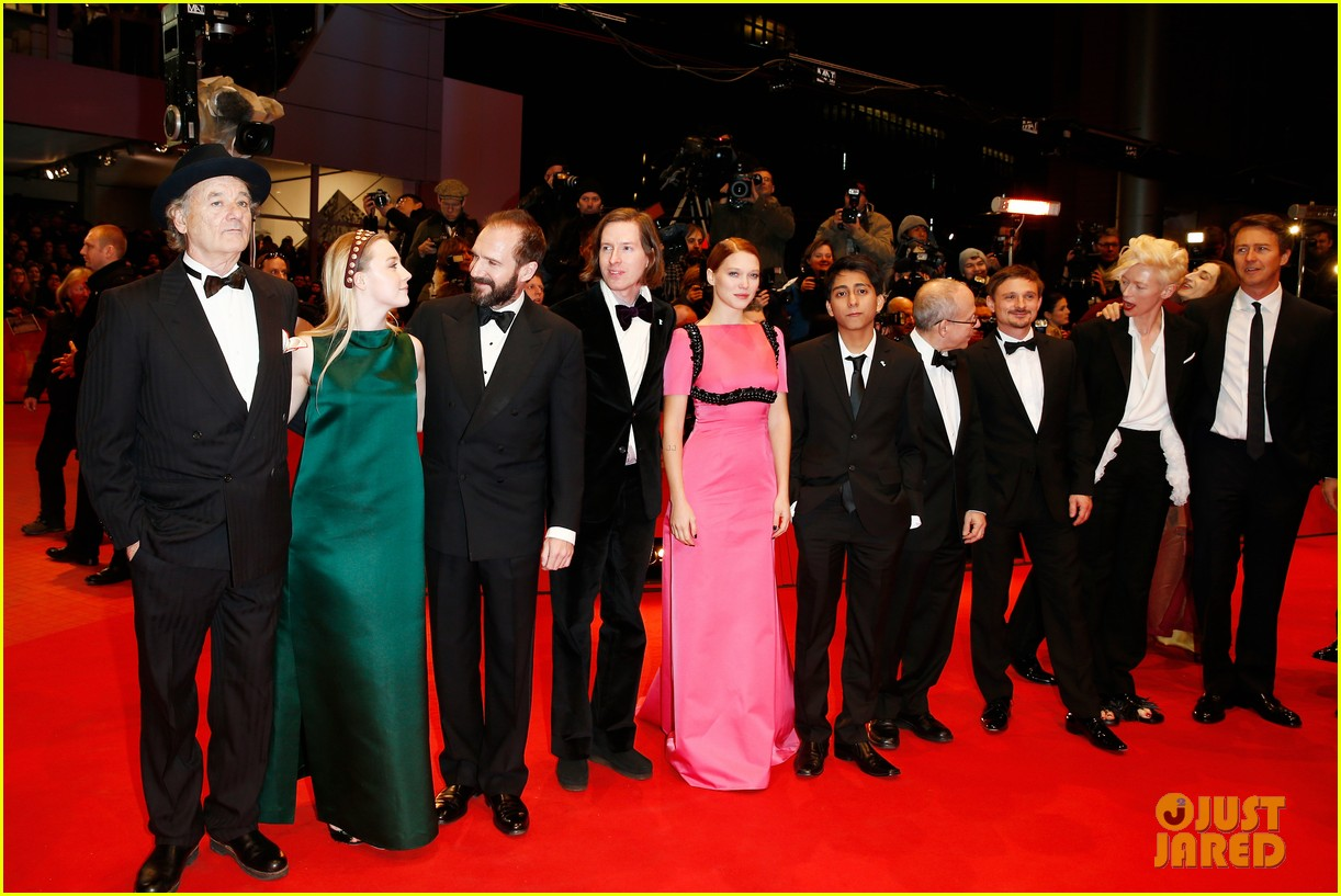 tilda swinton saoirse ronan grand budapest hotel premiere at berlinale 03
