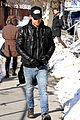 justin theroux films the leftovers on jennifer aniston 45th birthday 08