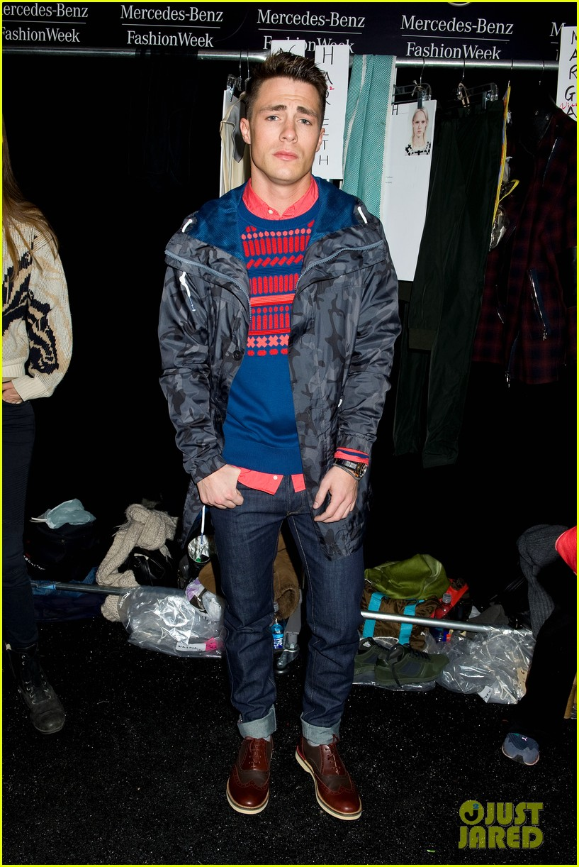bella thorne colton haynes lacoste fashion show 06