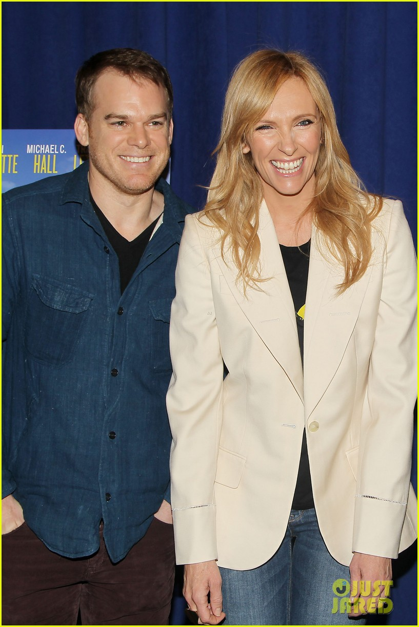 toni collette michael c hall realistic joneses photo call 183057186
