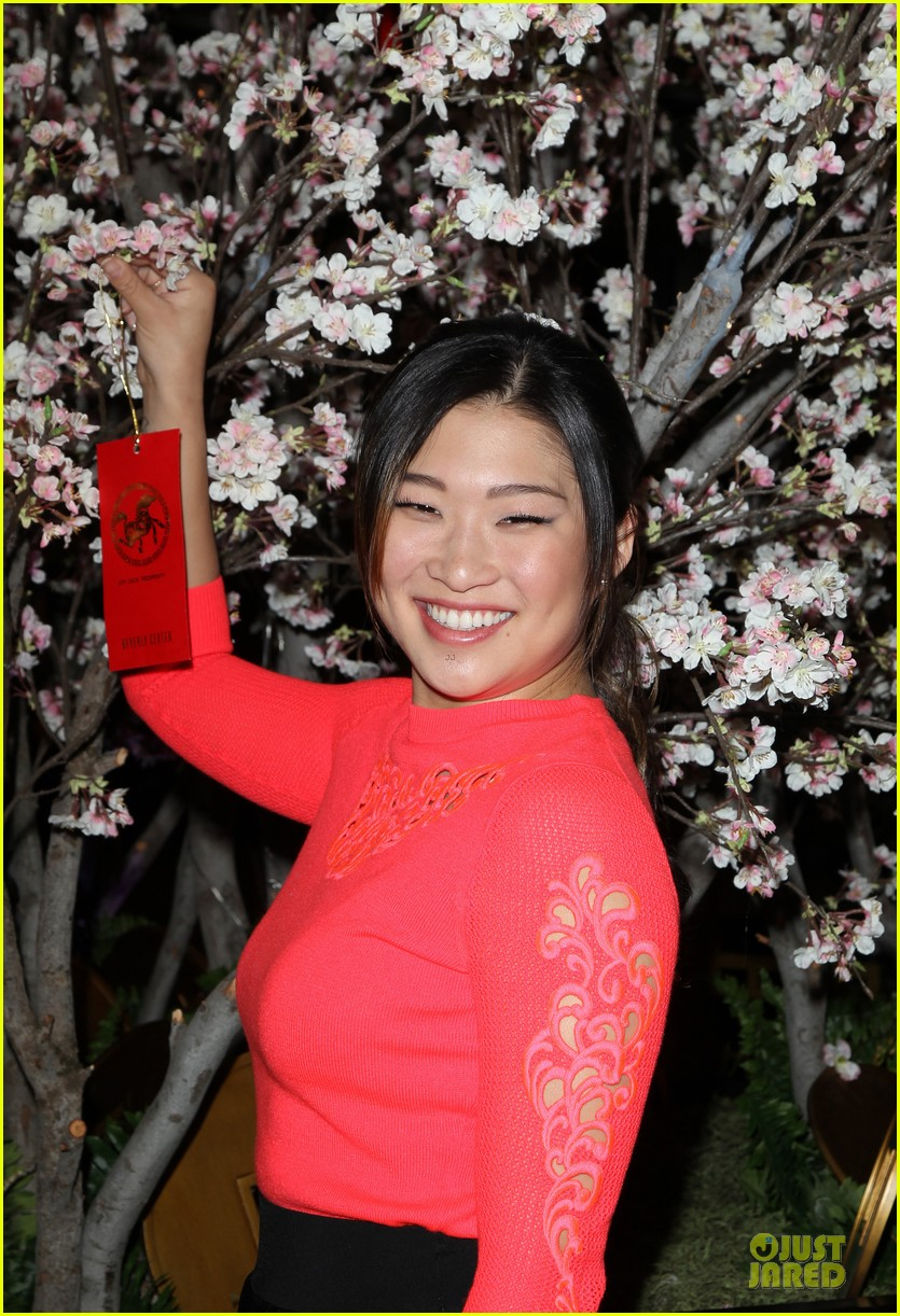 jenna ushkowitz red hot for chinese new year celebration 023047517