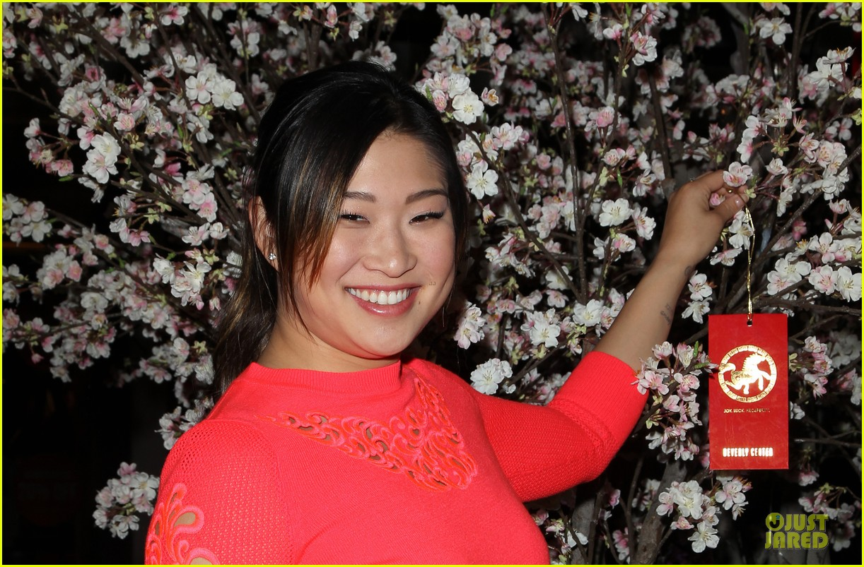 jenna ushkowitz red hot for chinese new year celebration 093047524