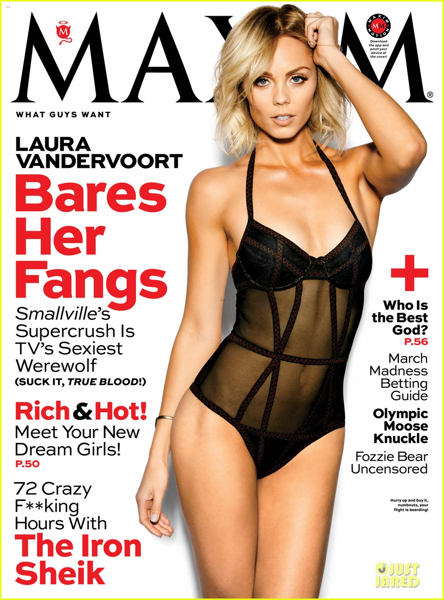 laura vandervoort sheer sexy for maxim magazine march 2014 04