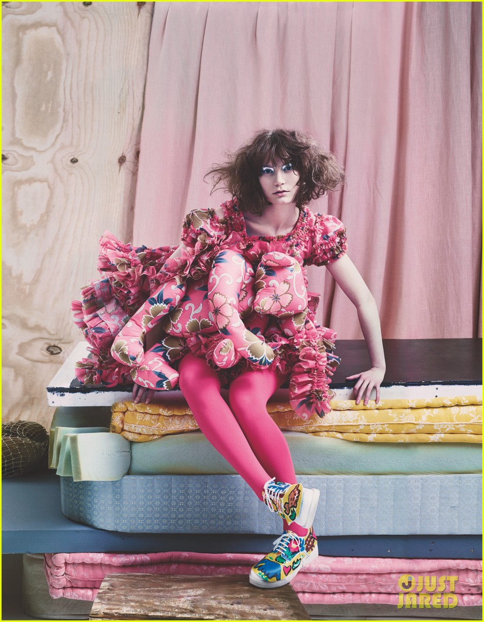 mia wasikowska wears teddy bear on dress for another mag 013050675
