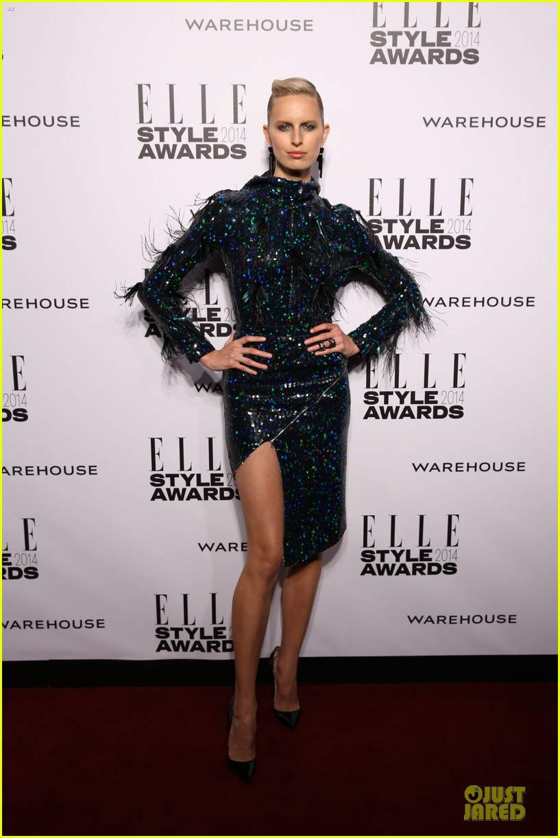 suki waterhouse cara delevingne stunning models at elle style awards 16