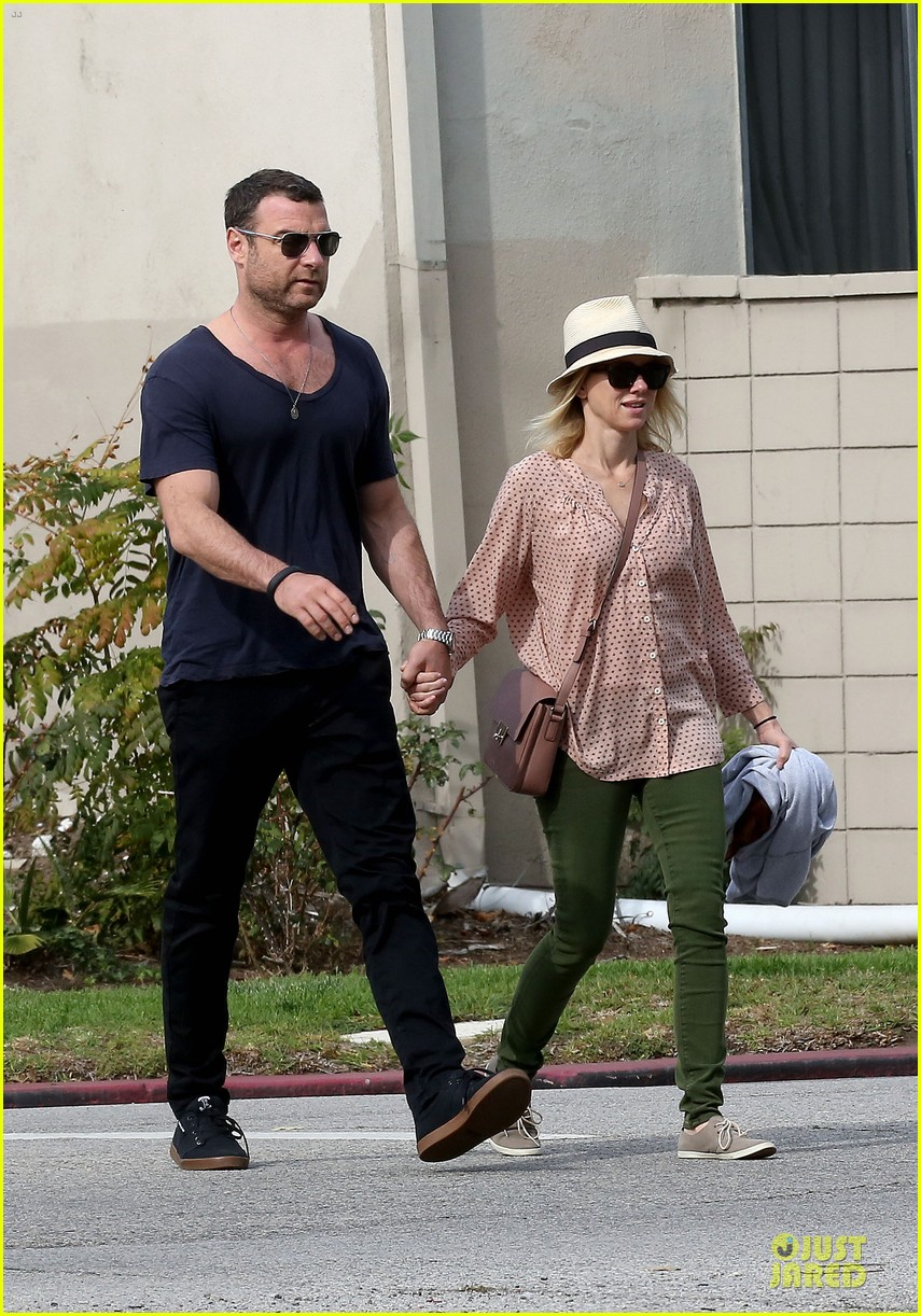 naomi watts liev schreiber hold hands for post valentine day date with the boys 28