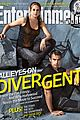 shailene woodley theo james cover ews divergent issue 01