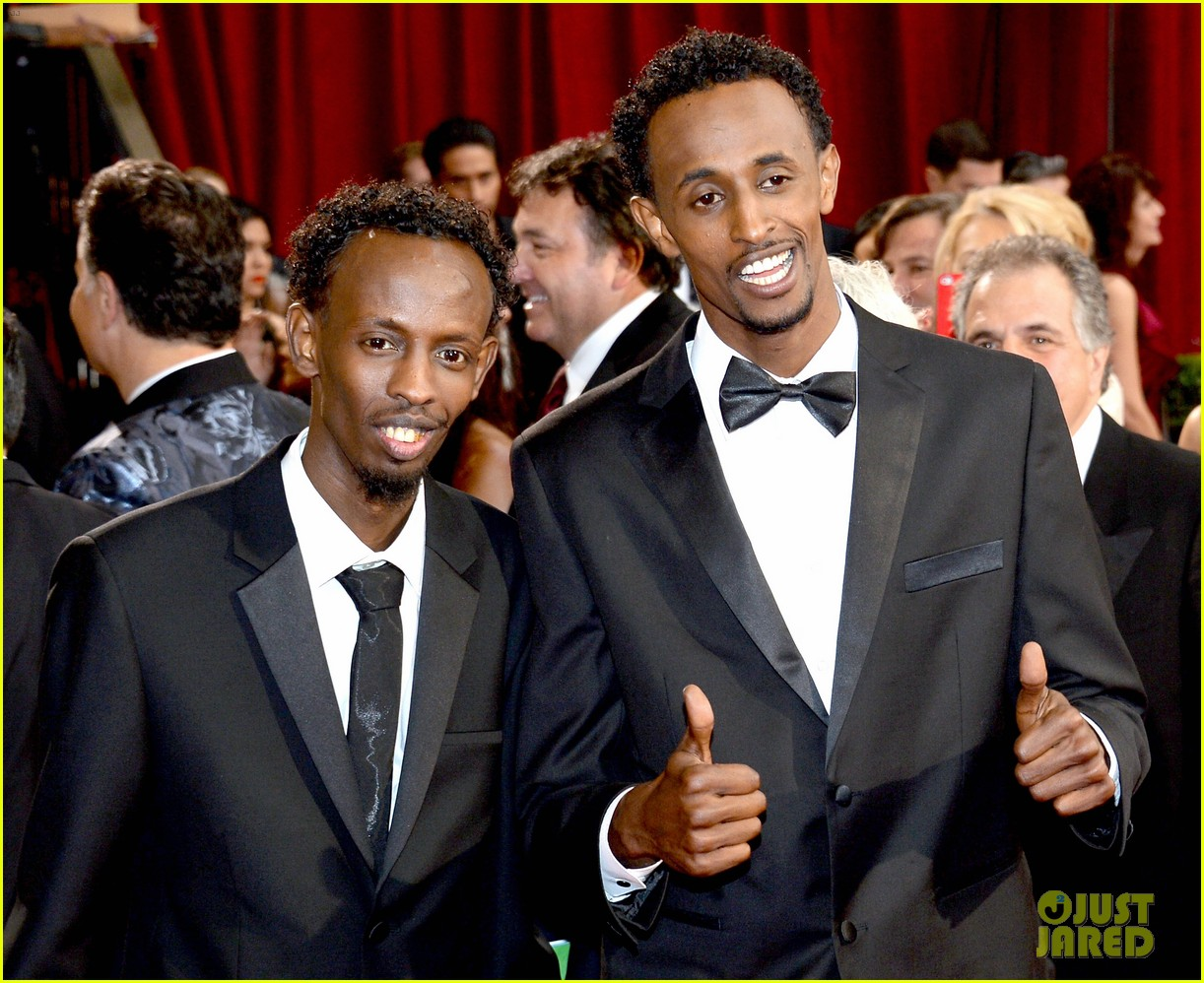 barkhad abdi is the captain now at oscars 2014 red carpet 05