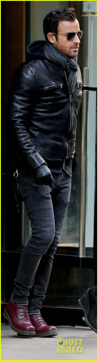 jennifer aniston justin theroux spotted in nyc 033069502