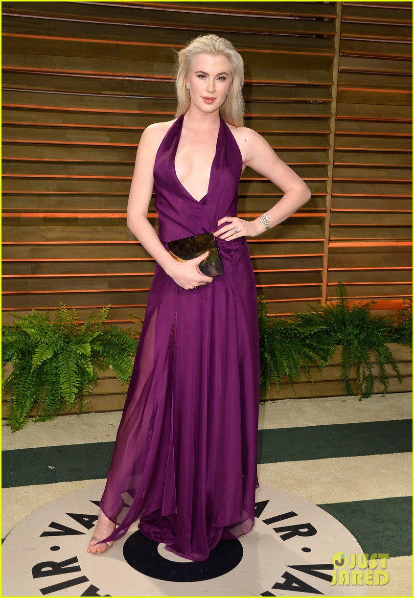 ireland baldwin chanel iman vanity fair oscar party 2014 033064830