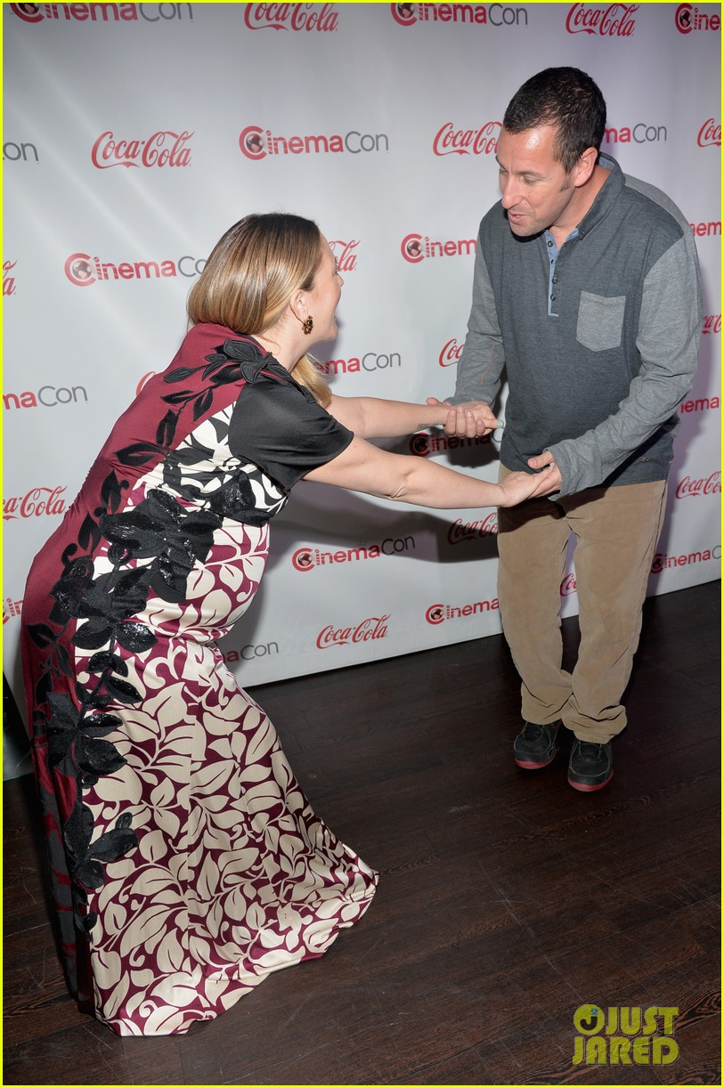 drew barrymore adam sandler cinemacon stars of the year 033080213