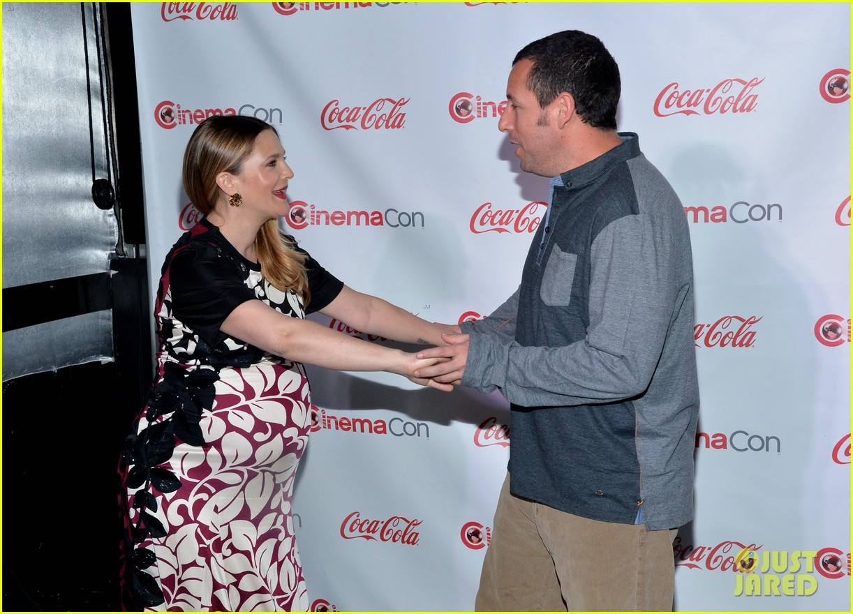 drew barrymore adam sandler cinemacon stars of the year 13