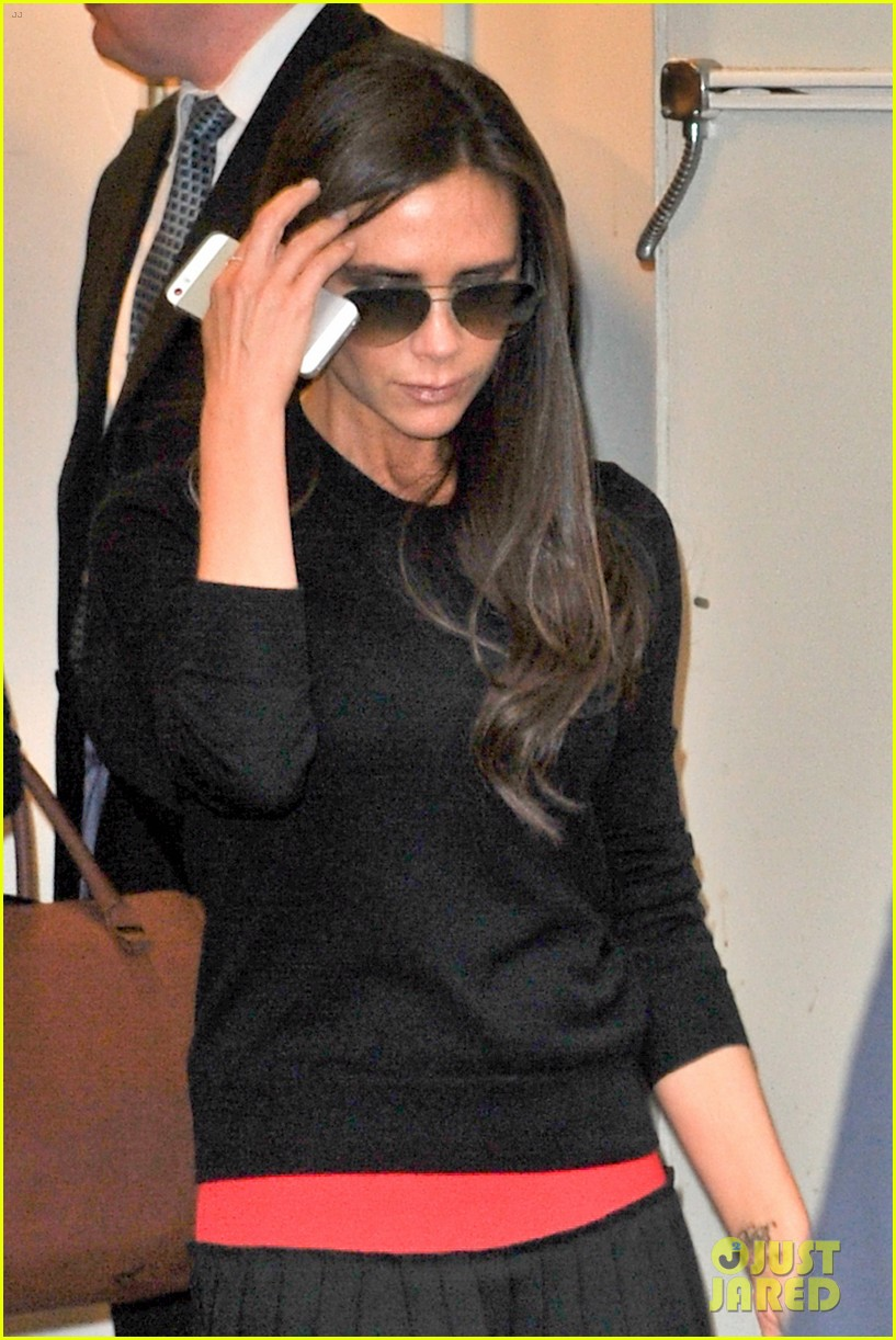 victoria beckham opens first shop in shop at printemps 07