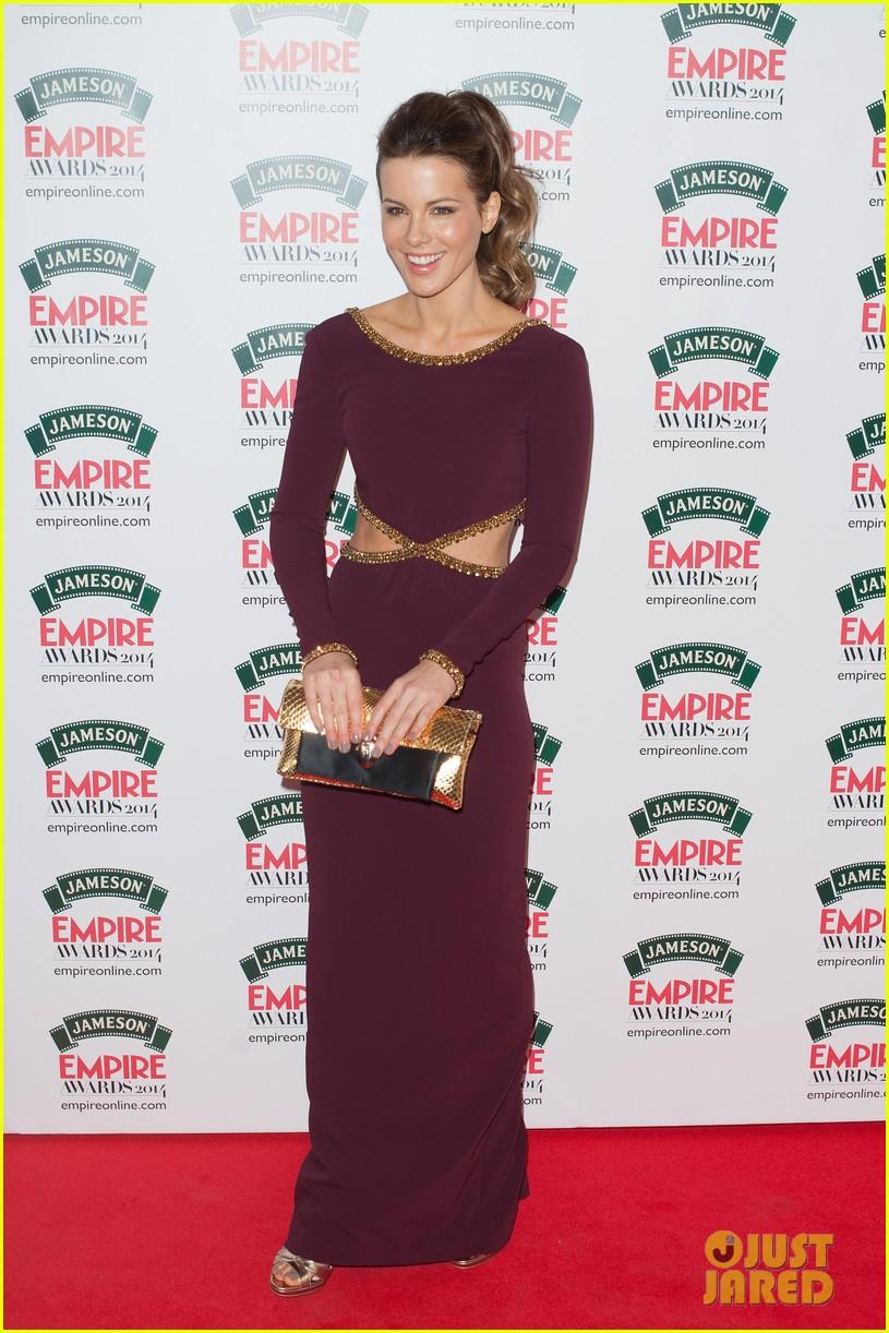 kate beckinsales cutout dress jameson empire awards 2014 073081808