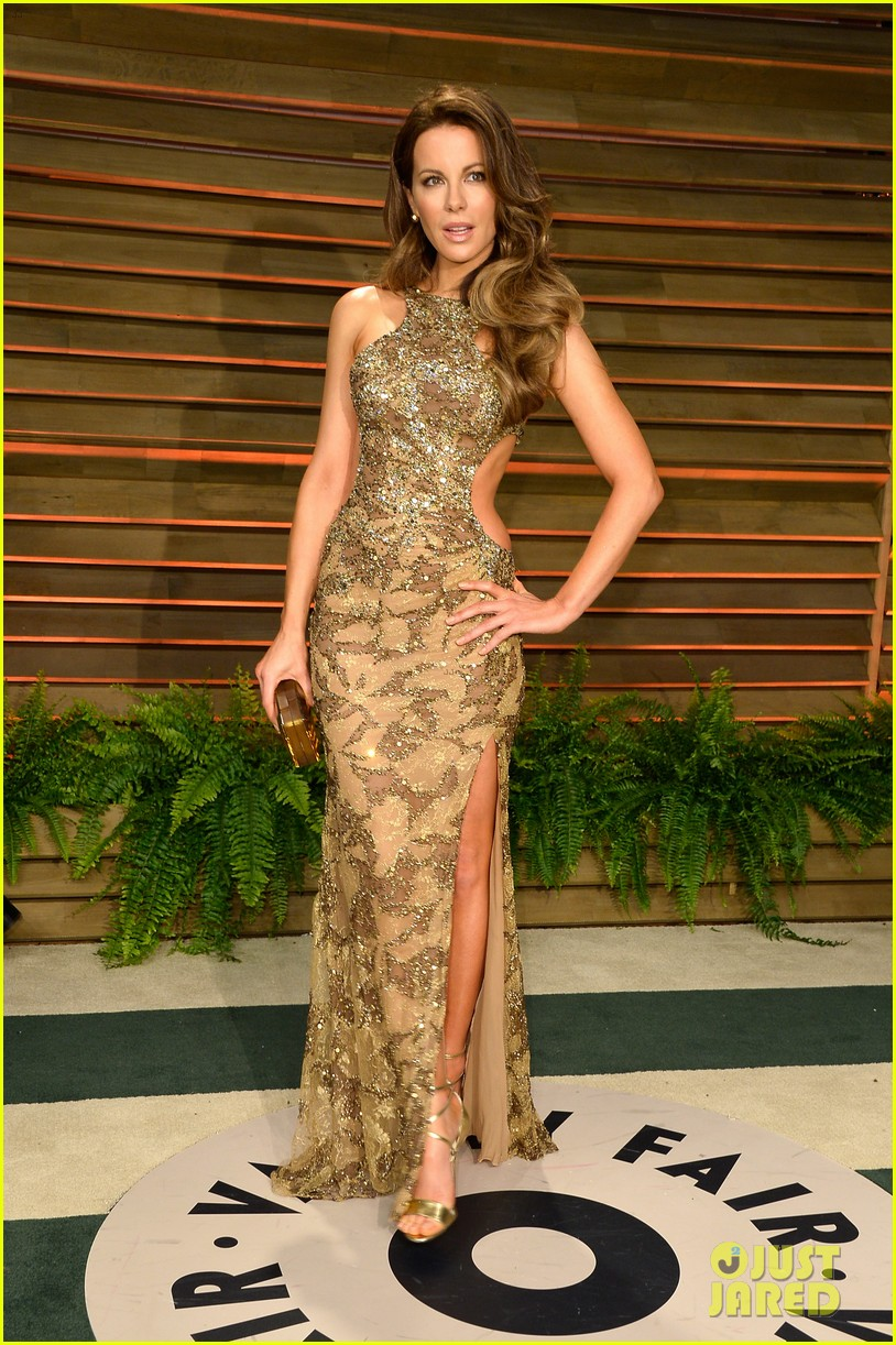 kate beckinsale len wiseman vanity fair oscars party 2014 013064788