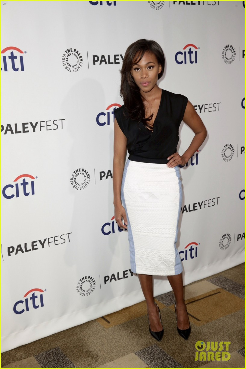 nicole beharie tom mison sleepy hollow paleyfest 243075185