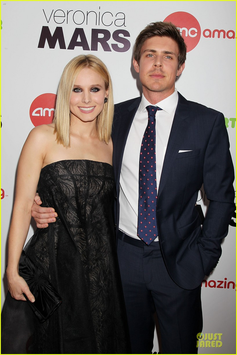 kristen bell chris lowell glam up the veronica mars nyc screening 173069543