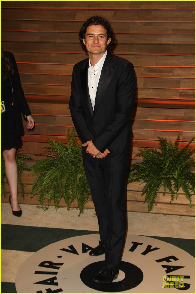 orlando bloom hits same vanity fair oscars party as ex miranda kerr 013064414