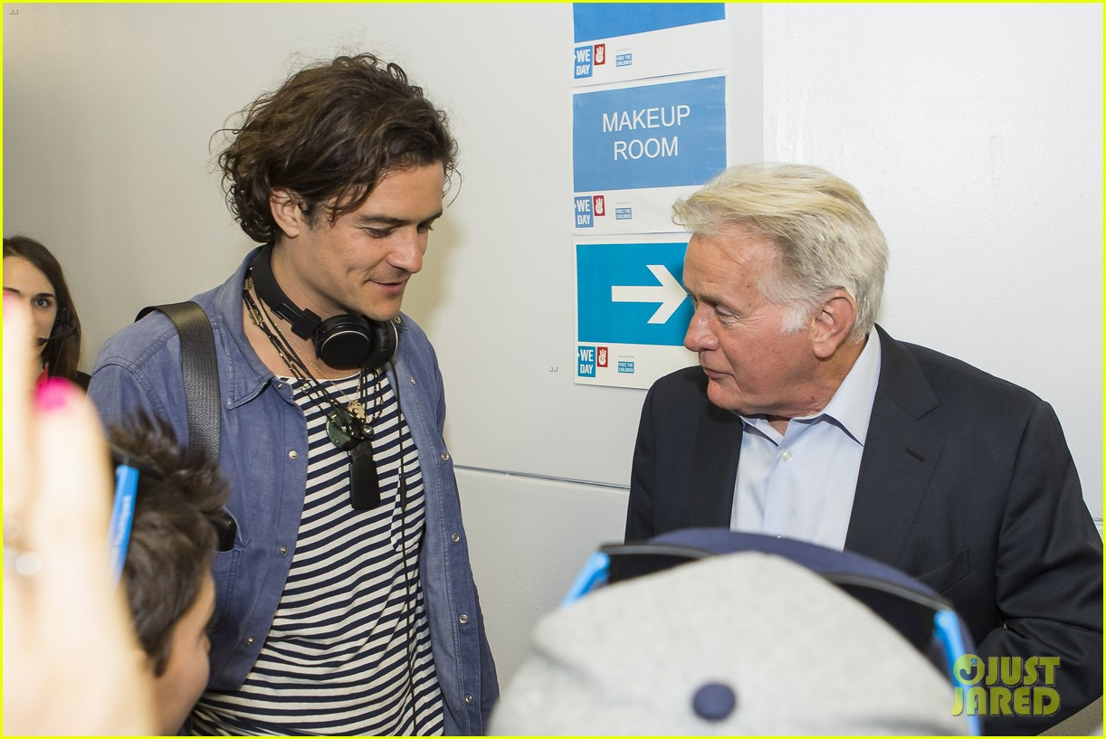 orlando bloom we day 2014 07
