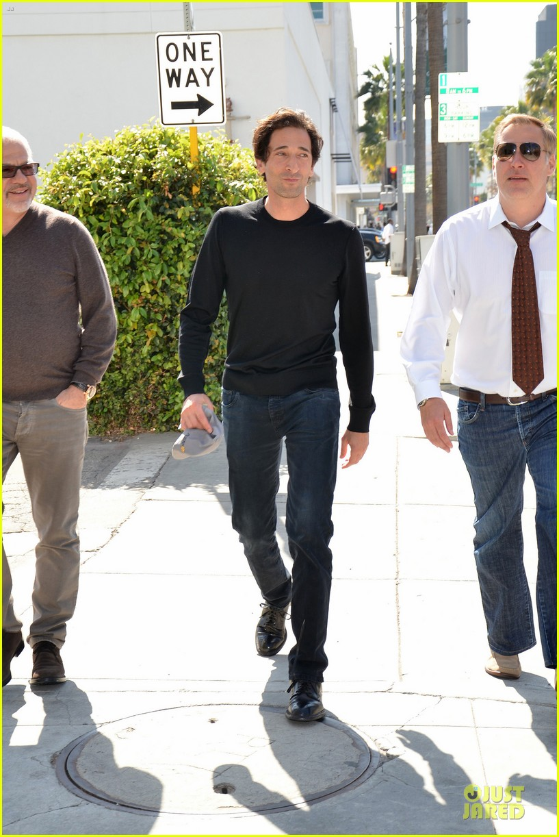 adrien brody gets to race in toyota grand prix 193072486