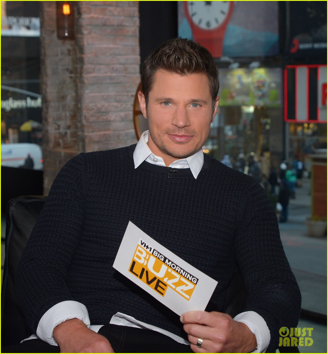 sophia bush nicky lachey reminisce about kissing on big morning buzz live 09
