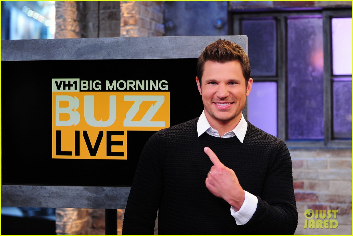 sophia bush nicky lachey reminisce about kissing on big morning buzz live 11