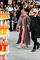 cara delevingne kendall jenner walk supermarket inspired runway at chanel show 14