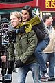 chord overstreet tweets he was arrested after giving darren criss piggy back ride for glee 09
