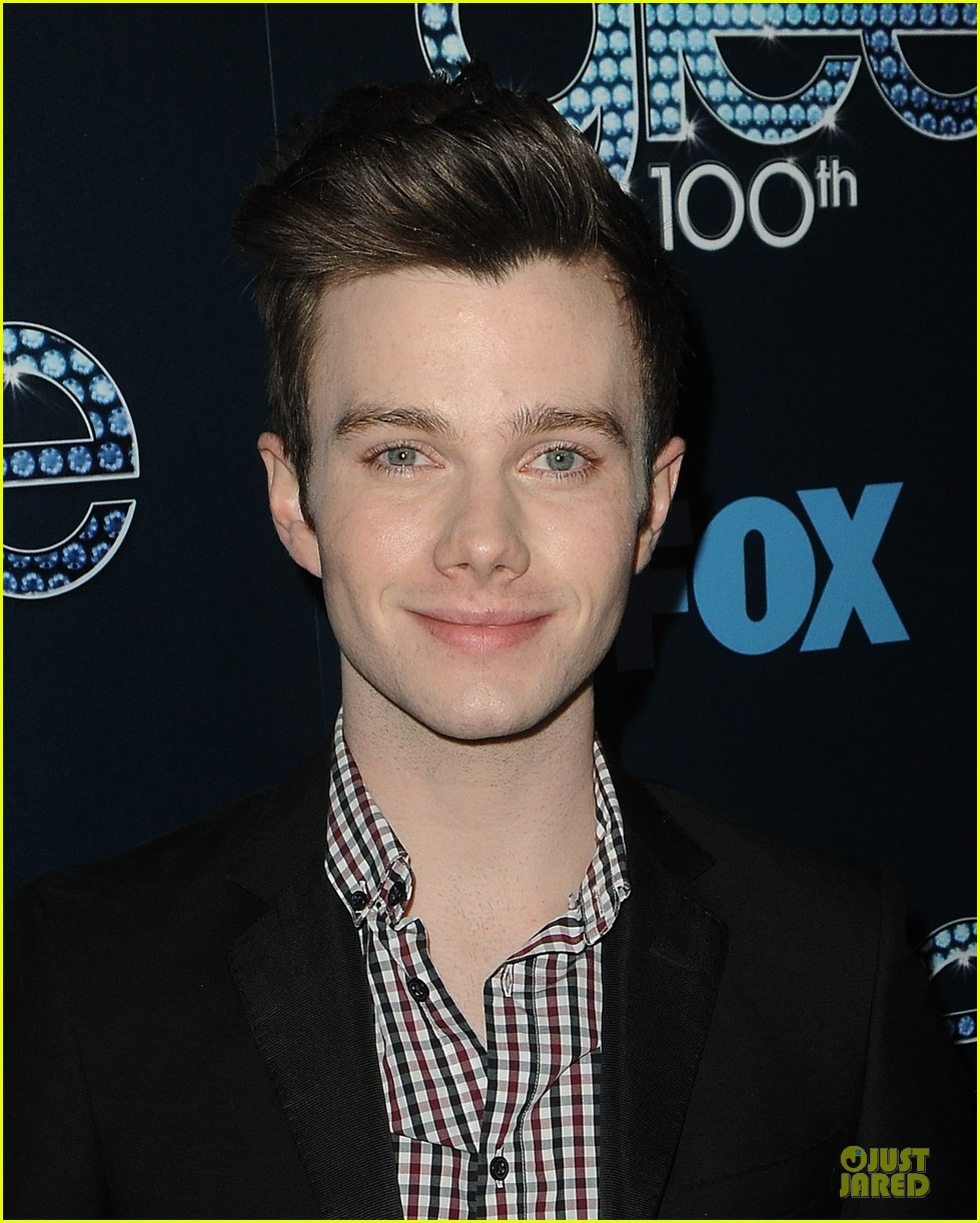chris colfer darren criss glee 100th episode celebration 17