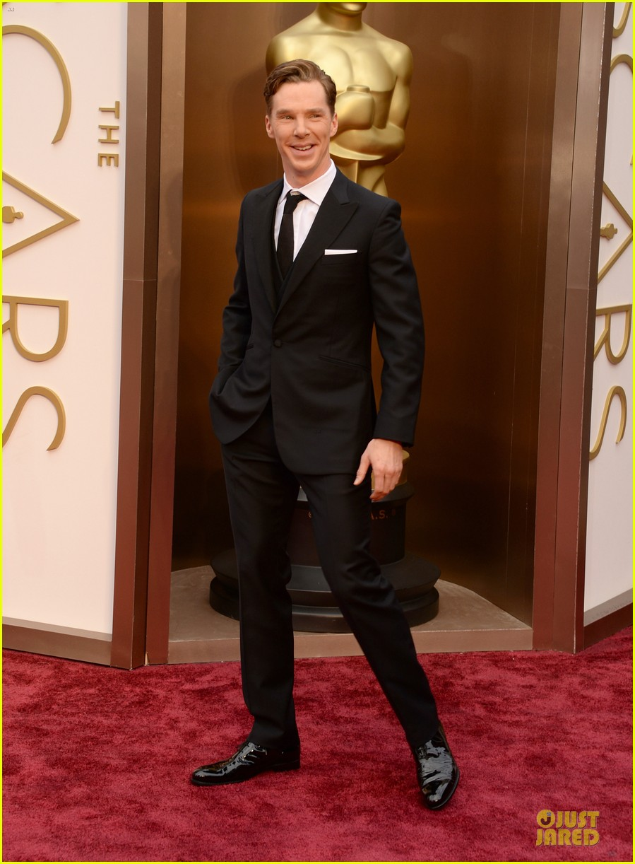 benedict cumberbatch oscars 2014 red carpet 05